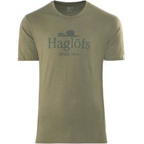 Haglöfs Camp t-shirt Heren beige